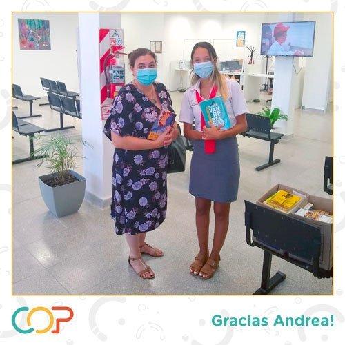 Donación de Libros al COP