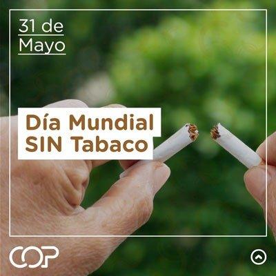 Dia mundial sin tabaco cop