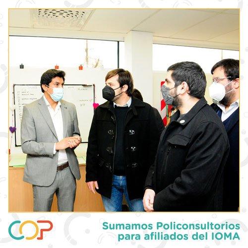 El COP suma policonsultorios para afiliados de IOMA